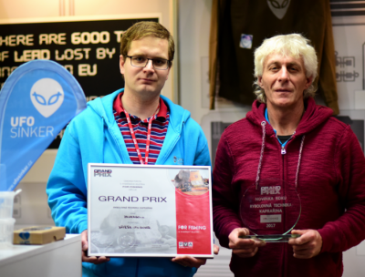 UFO Sinker great success at For Fishing 2017 Prague event